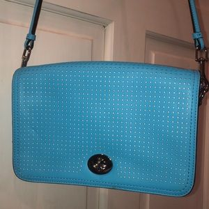 Coach Legacy Perforated Leather Penelope Crossbody